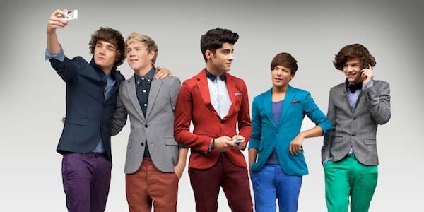 One Direction Boy Band 2012 suits