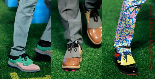 Prada men shoes - spring summer 2012 Runway Trend