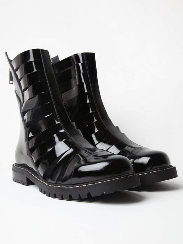gareth pugh boots get the rock look style fashion