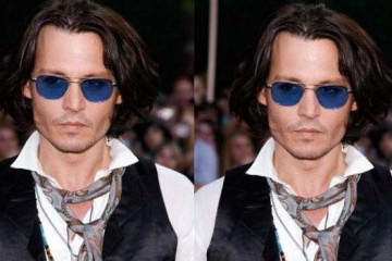 johnny depp neck tie