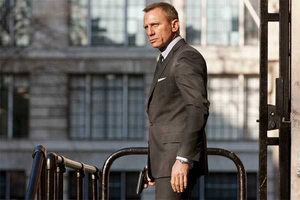 Skyfall James Bond suit grey by Tom Ford