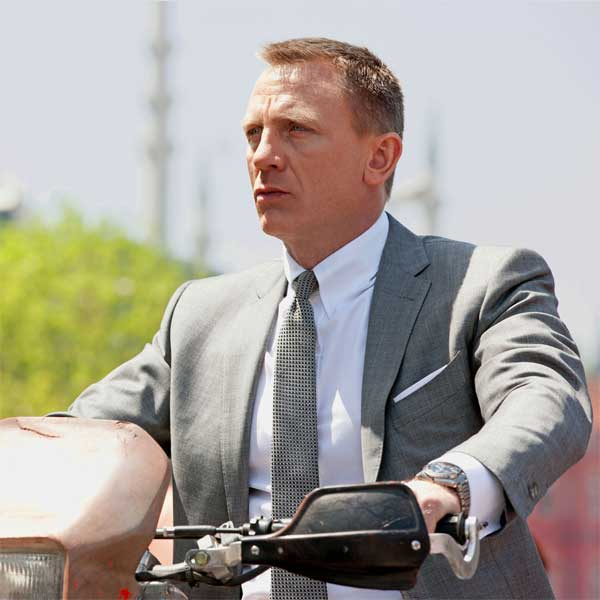 skyfall james bond suit - grey by Tom Ford - Details