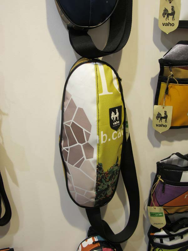 Vaho backpack Barcelona, made of recycled materials