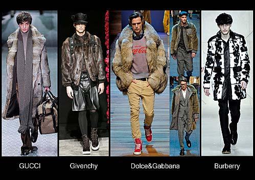fur-coat for men 2012