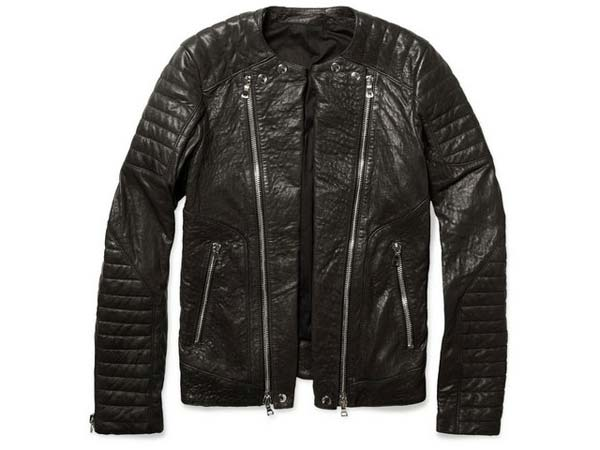 balmain-2012-fall-winter-down-biker-jacket,-black