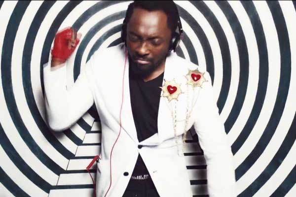 Will.i.am,white blazer