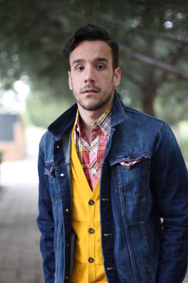 Mustard Colours for men - Cardigans