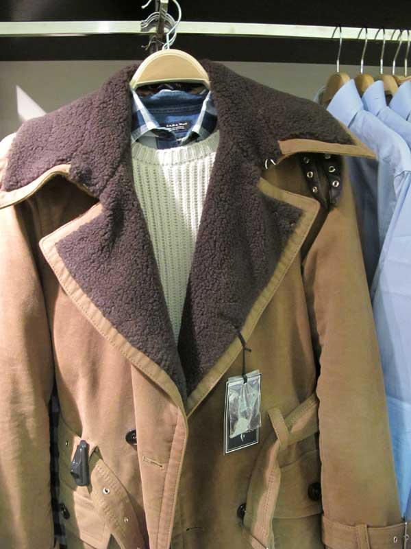 zara-men,-leather-brown-jacket