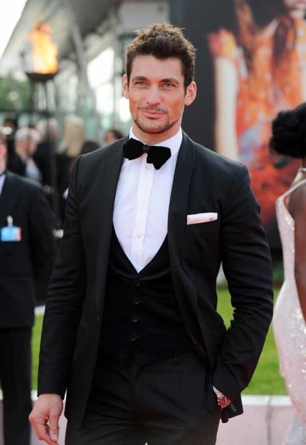David Gandy in Dolce & Gabbana Dinner suit