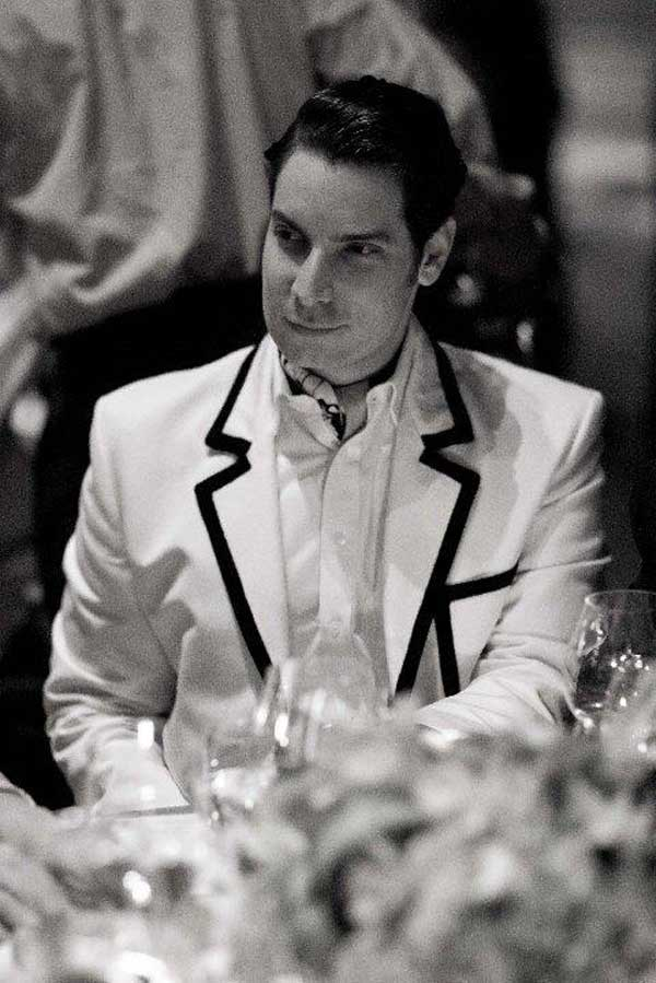 Louis Vuitton - White dinner suit