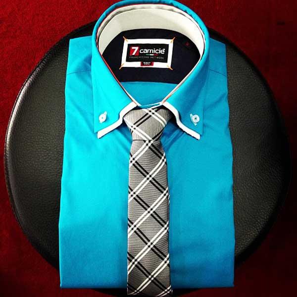 7 Camicie Double Collar Shirt