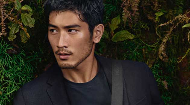 Godfrey Gao in the Louis vuitton