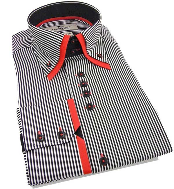 Claudio Lugli Shirt - Double Collar Shirt