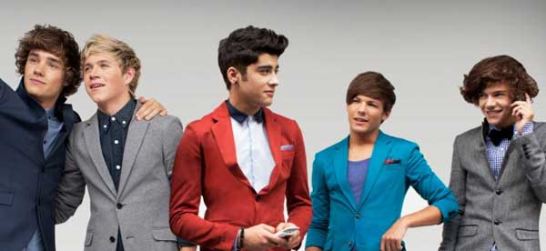 One Direction - wearing dinner suits