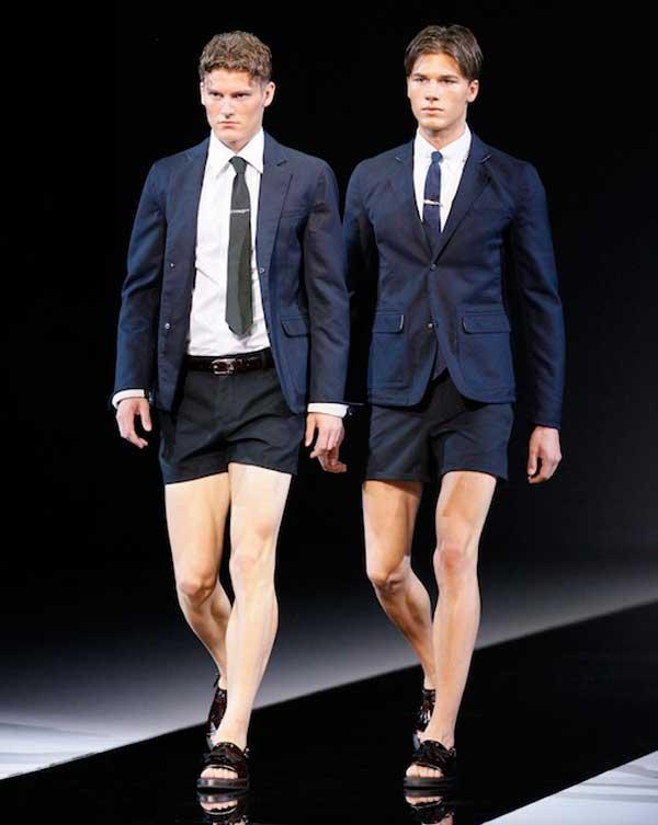 EMPORIO ARMANI SS 2013 shorts for men