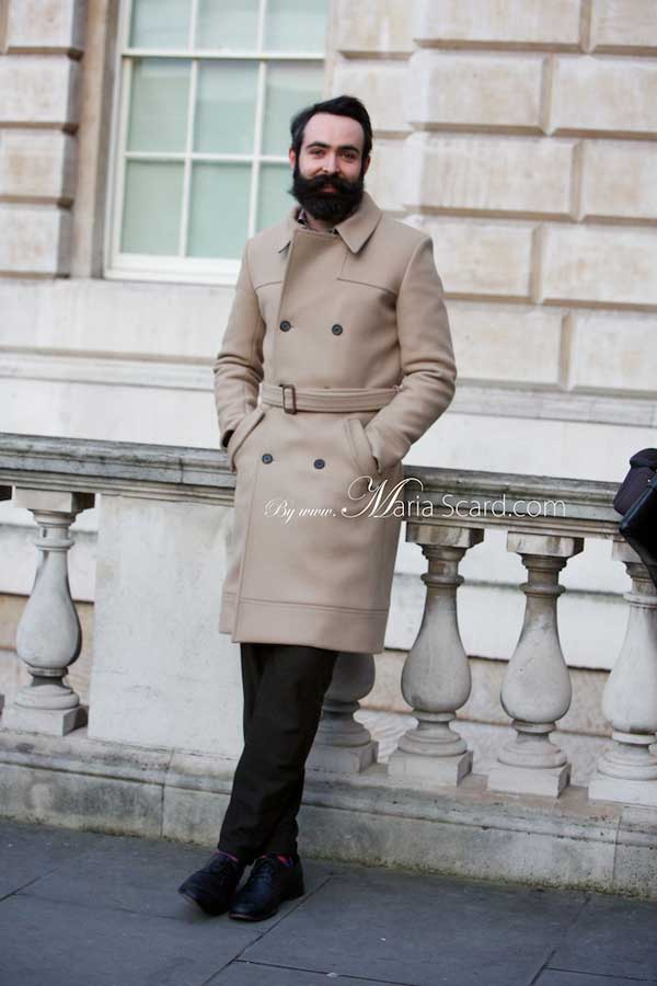 Chris Chasseaud - London Fashion Week