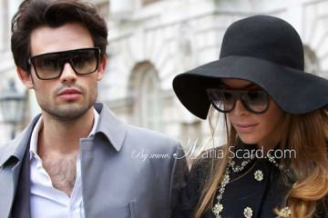 Made In Chelsea - Mark Francis Vandelli and Victoria Baker London Fashion Week
