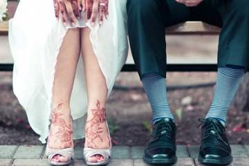 wedding shots - groom shoes 2013