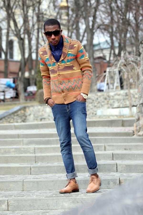 Denim Jeans - Roll ups for men 2013