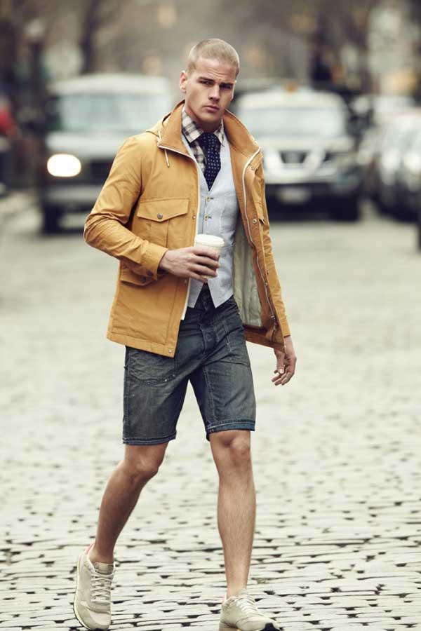 Denim Dark - Shorts for men 2013