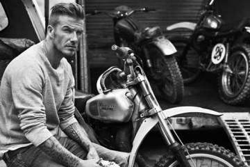 David Beckham- Motorbike fashion 2013