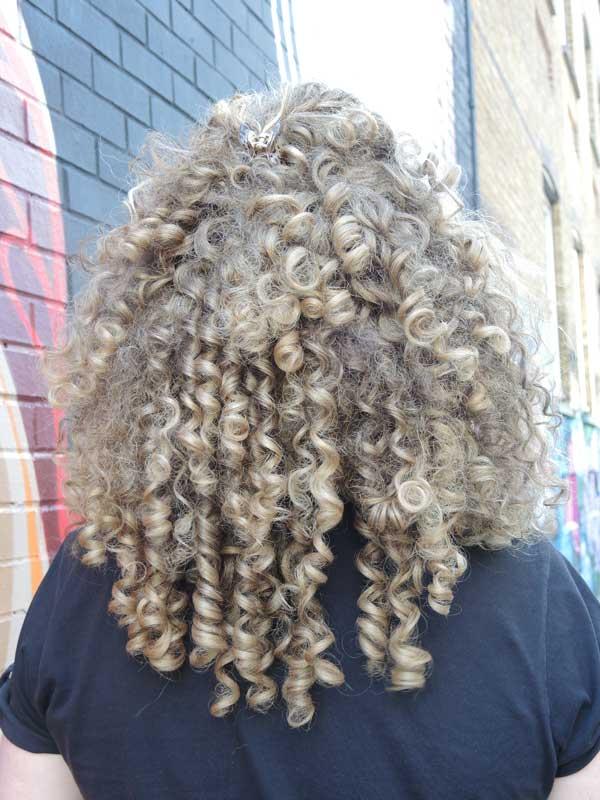 Long curly hair for men 2013