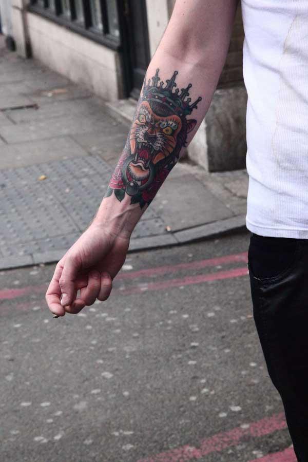 Tattoo for Men - Shoreditch 2013