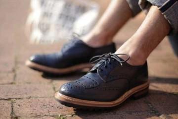 Brogues Blue - Smart footwear