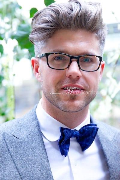 Darren Kennedy -  Irish TV Presenter at Mr Porter - London Collections Men