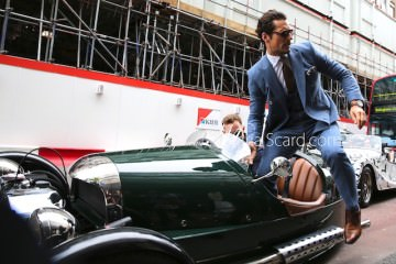 David Gandy - Stepping Out Of a 3 wheel Car