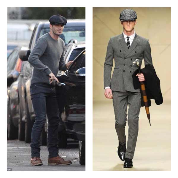 Flat Cap Berets David Beckham