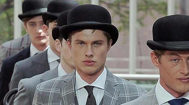 Pola hats for men black