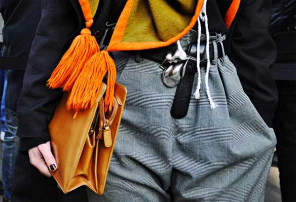 Clutch man bag for men orange