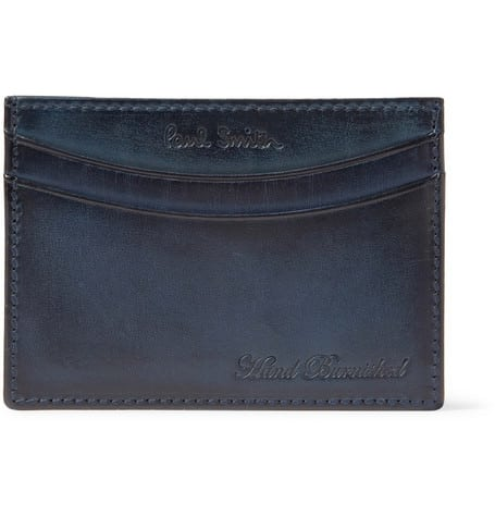Paul Smith Burnished Leather Card Holder