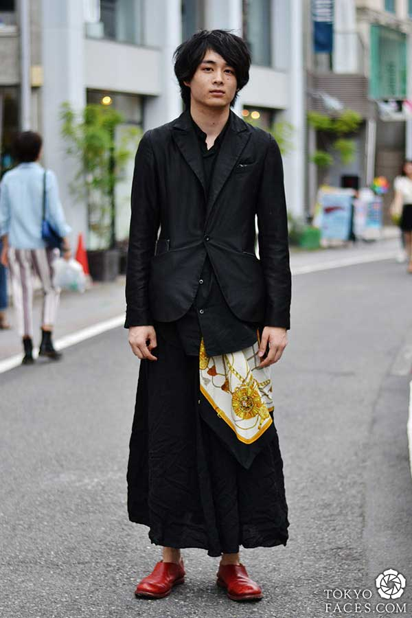 Japanese Men's Fashion - Anything But Traditional