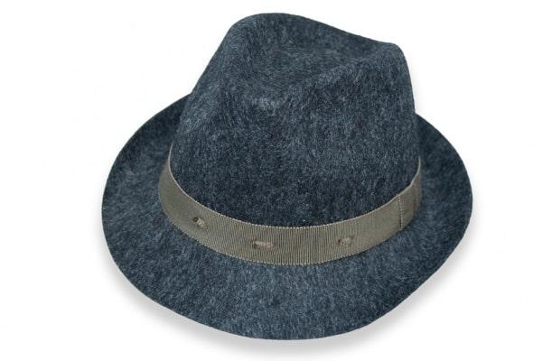 Fedora - Wool Felt - Grey