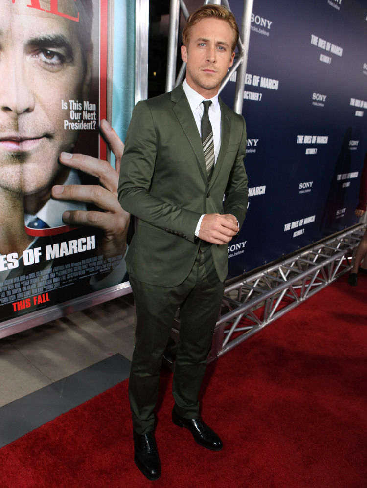 3 - Ryan Gosling Green Suit