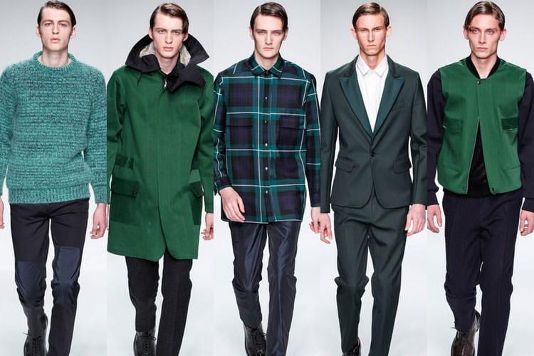 green-fashion-men