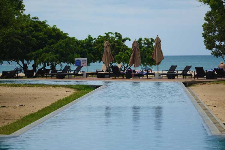Sunrise By Jetwing Sri Lanka Hotel Review - pool view towards the beach