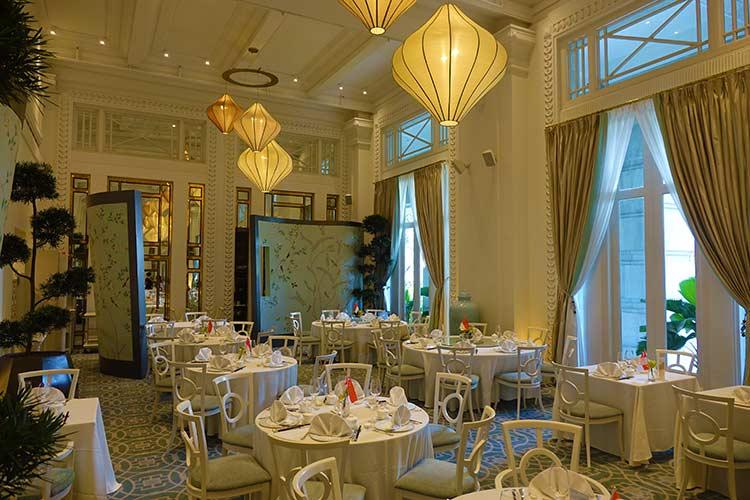 fullerton hotel singapore review jade restaurant