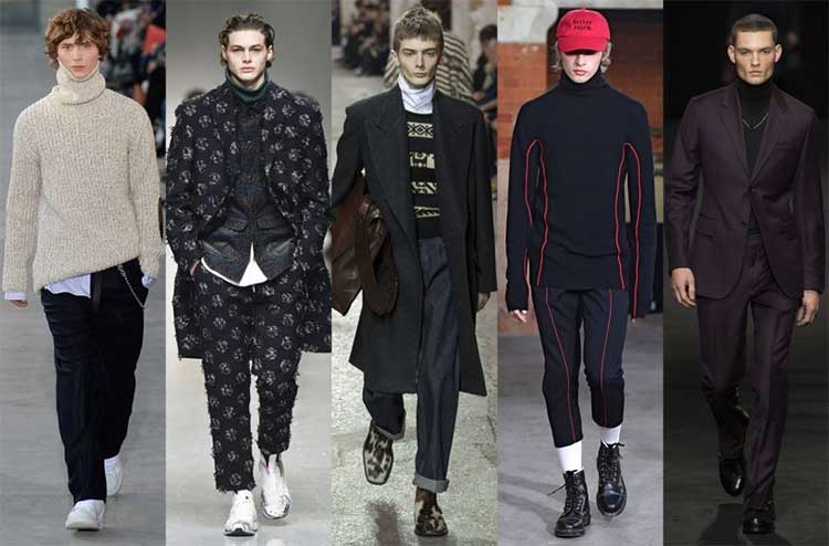 Return of the roll-neck at Milan Fashion week