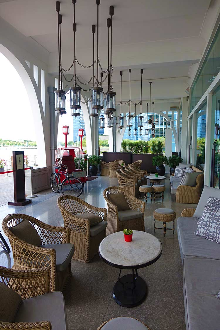 Fullerton Hotel Singapore - Historic Iconic Stay - Men Style Fashion
